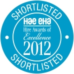 Hire Awards 2012 Shortlist