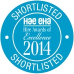 Hire Awards 2014 Shortlist