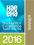 Hire Awards 2016 Winner